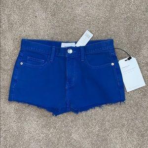 Current/Elliott Nautical Blue Boyfriend Short